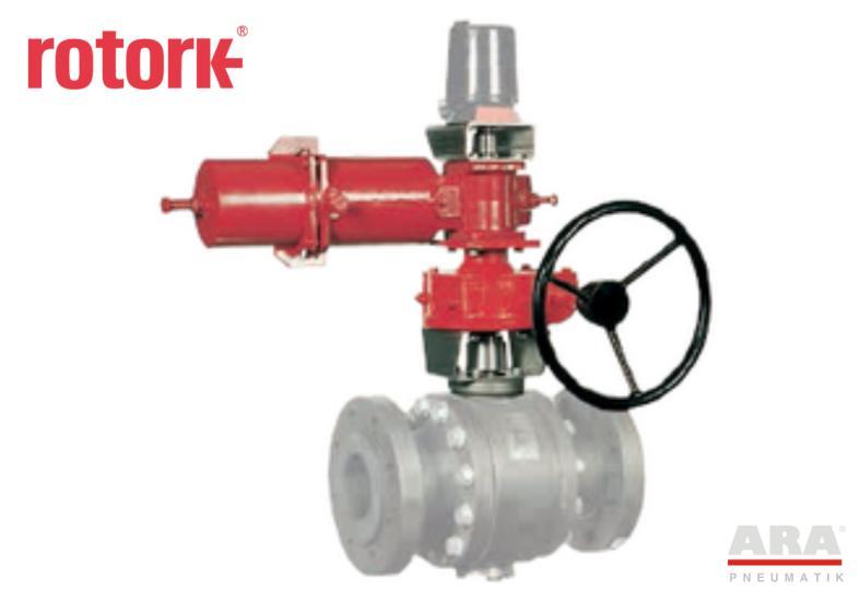 Przekładnia awaryjna do napędów jednostronnego działania Rotork ILG-S