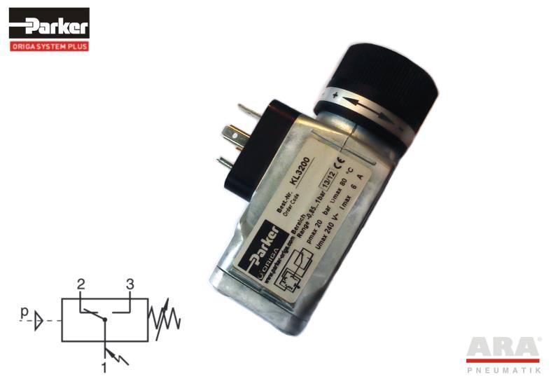 Wyłącznik ciśnieniowy elektryczny Parker KL