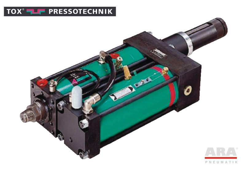 Siłownik pneumohydrauliczny Tox Pressotechnik Kraftpaket K 51