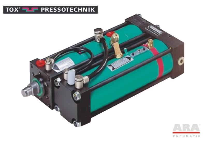 Siłownik pneumohydrauliczny Tox Pressotechnik Kraftpaket K