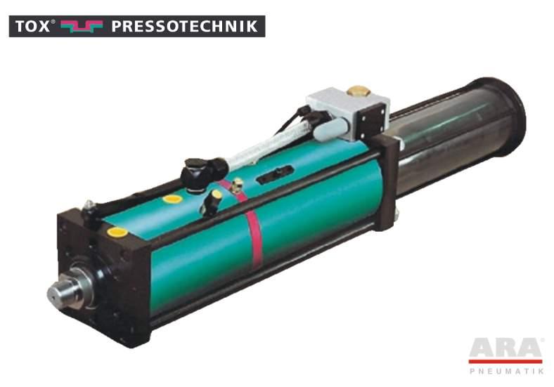 Siłownik pneumohydrauliczny Tox Pressotechnik Kraftpaket S.50