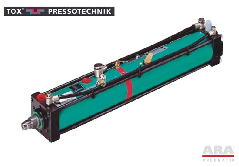 Siłownik pneumohydrauliczny Tox Pressotechnik Kraftpaket S