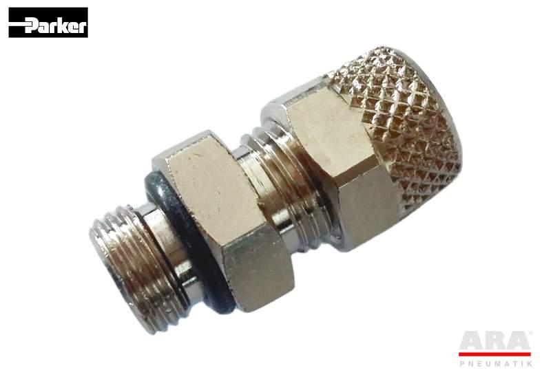 Złączka pneumatyczna prosta Parker KW018..