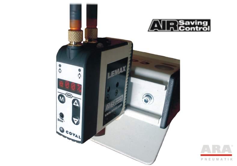 Stacja eżektorowa Lemax z systemem oszczędzania sprężonego powietrza ASC