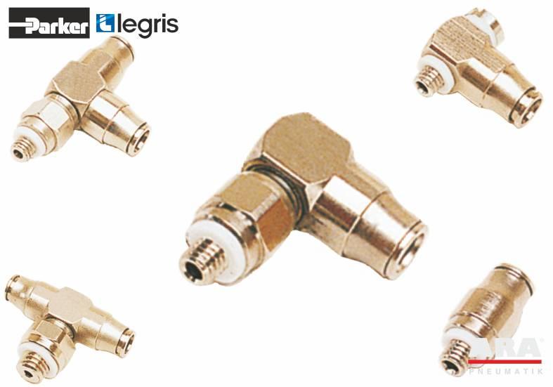 Miniaturowe złącza pneumatyczne 3mm Parker Legris LF3200