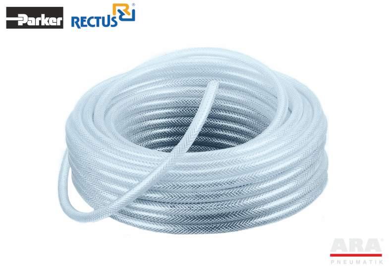 Wąż przemysłowy gumowy zbrojony PVC do sprężonego powietrza i wody Parker MHP