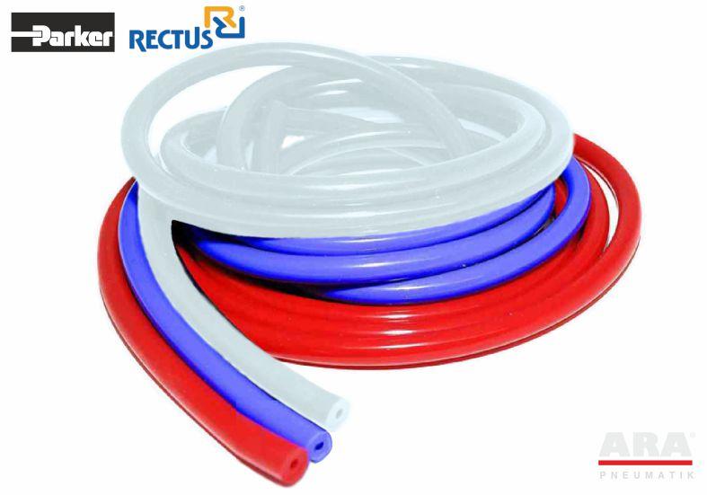 Wąż przemysłowy silikonowy do gorącej wody Parker Rectus seria MHS