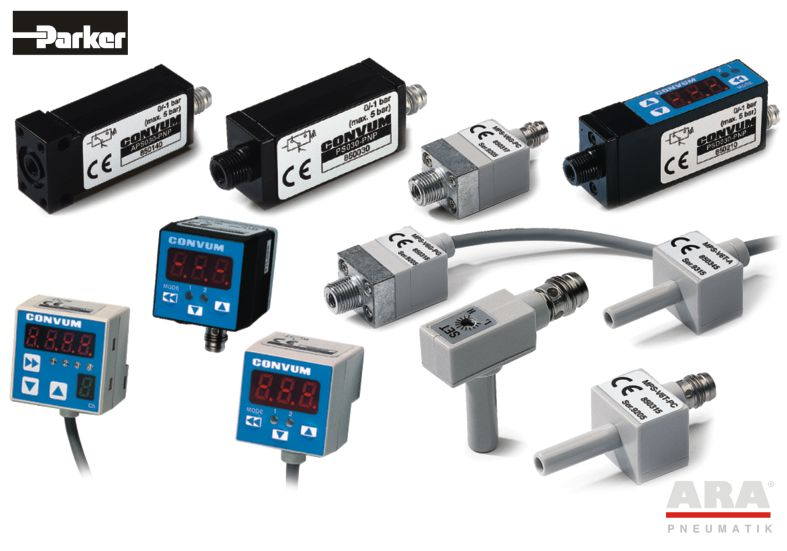 Wyłączniki ciśnieniowe elektroniczne Parker MPS