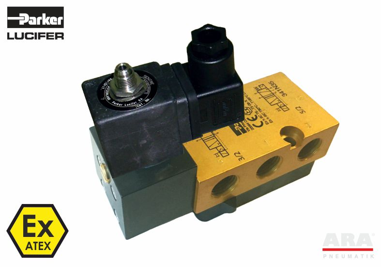 Zawór elektromagnetyczny Parker NAMUR N33-35