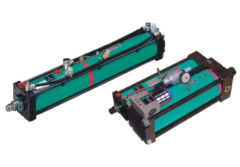 Napędy pneumohydrauliczne Tox Pressotechnik