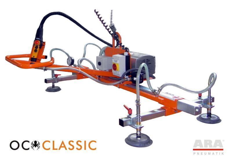 Zawiesie próżniowe OC Classic do transportu bliskiego płyt drewnianych
