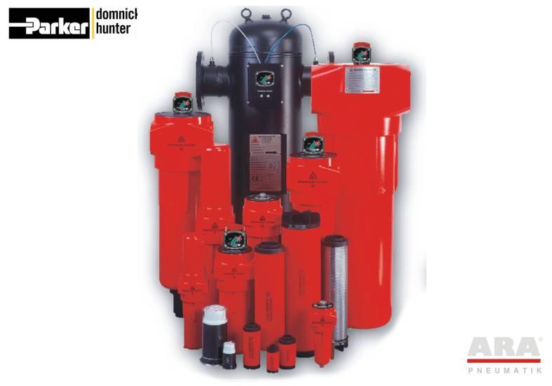 Filtry sprężonego powietrza Parker Dominick Hunter OIL-X