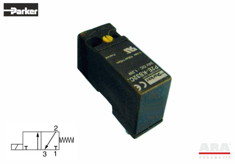 Cewka 24 VDC do zaworów procesowych modułowych Parker P2E-KS32C