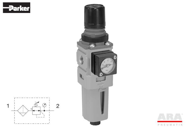 Filtr-regulator przygotowania powietrza Parker Global Mini P31