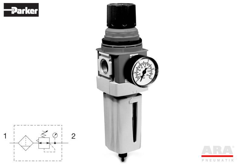 Filtr-regulator przygotowania powietrza Parker Global Standard P33