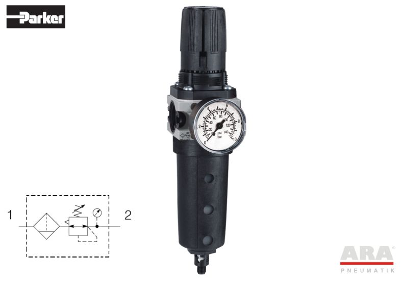 Filtr-regulator przygotowania powietrza Hoerbiger Origa |  Parker A15 | P3X