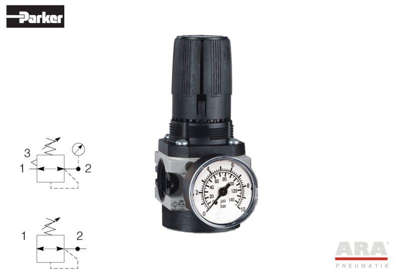 Regulator przygotowania powietrza Hoerbiger Origa |  Parker A15 | P3X