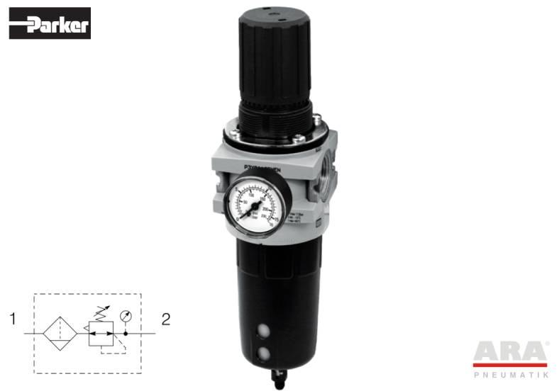 Filtr-regulator przygotowania powietrza Hoerbiger Origa | Parker A25 | P3Y