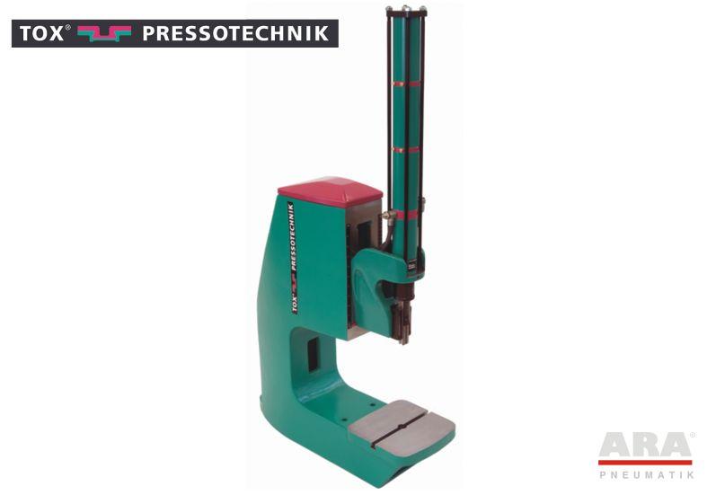 Prasa stołowa pneumatyczna Tox Pressotechnik PF z korpusem standardowym