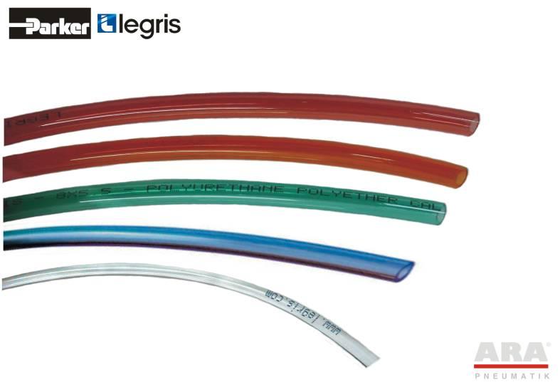 Przewód elastyczny poliuretanowy PU Crystal Parker Legris