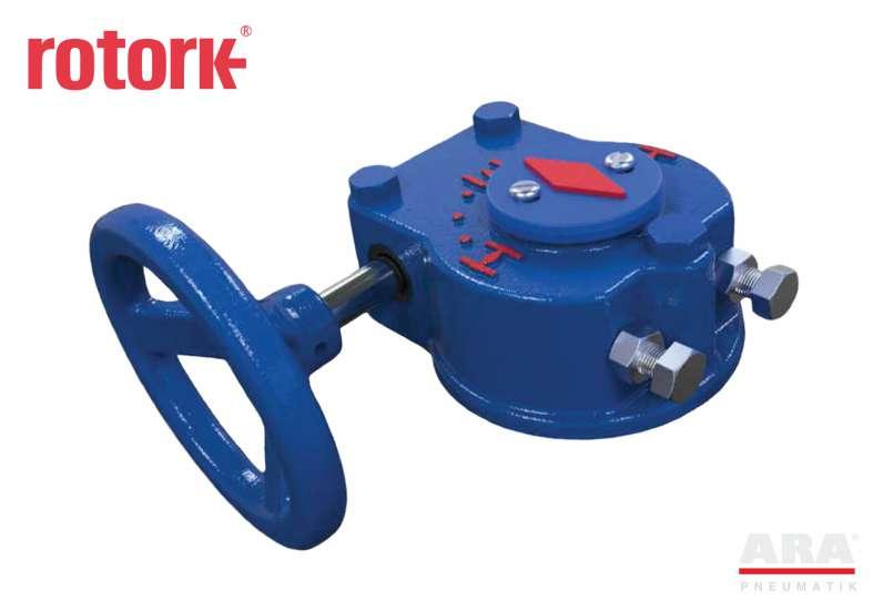 Przekładnia ślimakowa ręczna Rotork QTW150