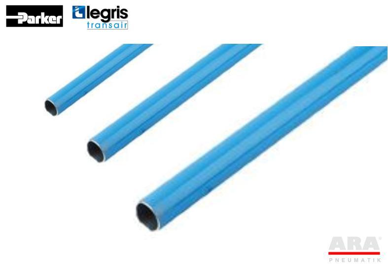 Rury aluminiowe instalacji sprężonegoo powiertrza 16.5. 25, 40 mm -- Parker Legris Transair