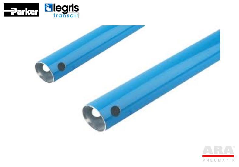 Rury aluminiowe instalacji sprężonegoo powiertrza 50, 63 mm -- Parker Legris Transair