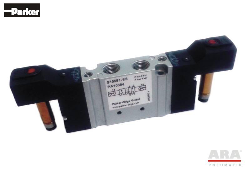 Zawór sterowany elektromagnetycznie S10 581