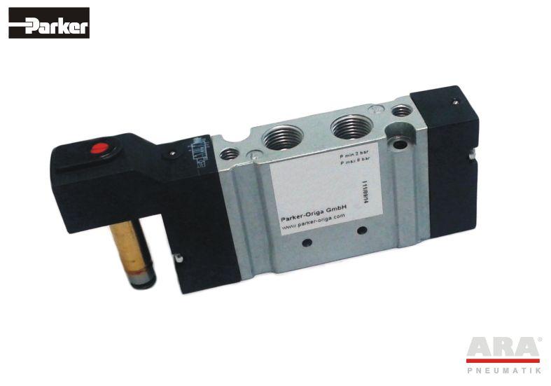 Zawór elektromagnetyczny monostabilny Parker Origa S10 5/2