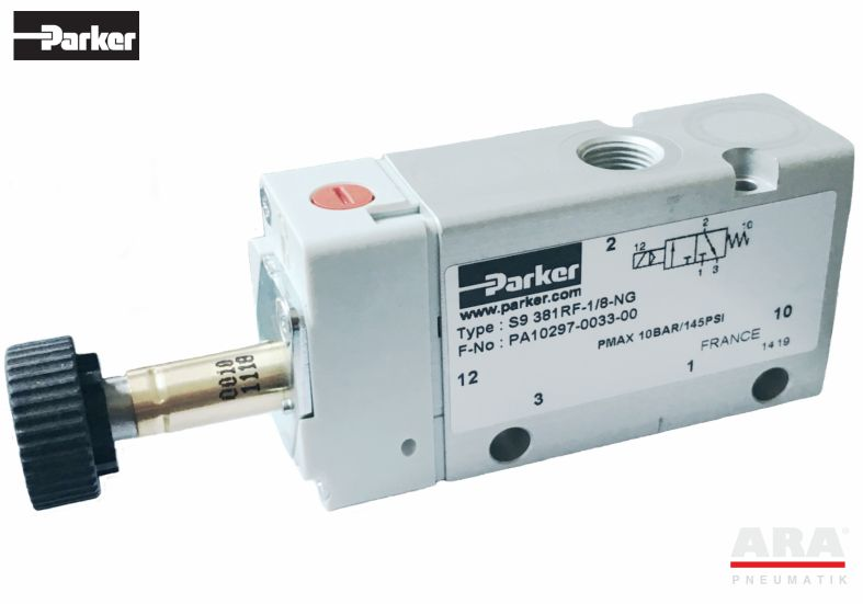 Zawór sterowany elektromagnetycznie S9 361RF