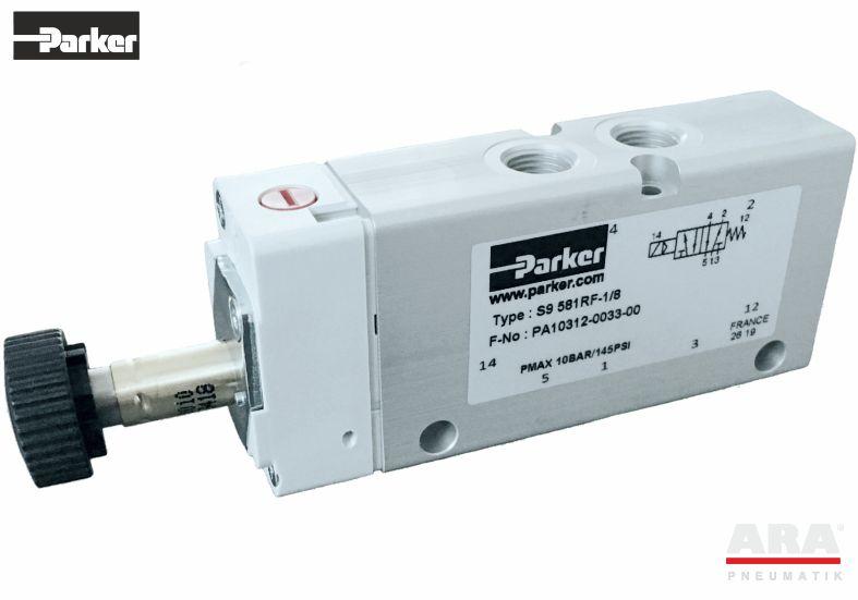 Zawór sterowany elektromagnetycznie S9 581RF