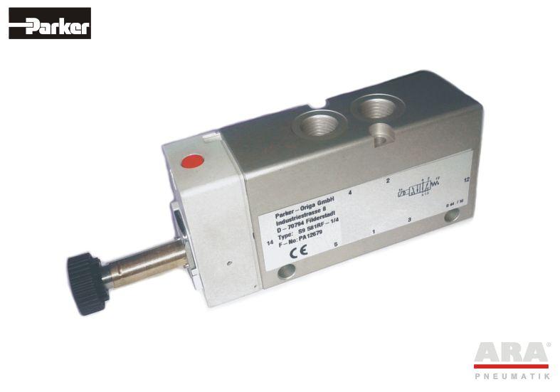 Zawór elektromagnetyczny monostabilny Parker Origa S9 5/2