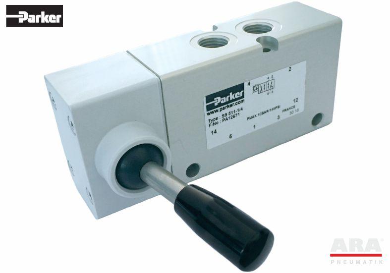 Zawór rozdzielający sterowany mechanicznie Parker Origa S9 5/2