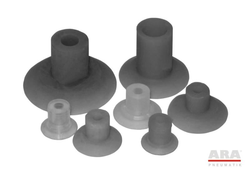 Ssawka płaska serii SGP dedykowana do folii i papieru o śr. 15÷40 mm