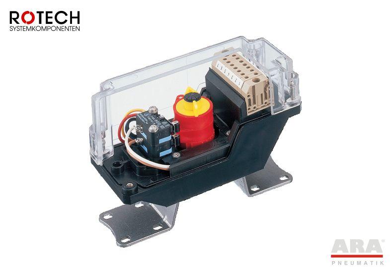 Wyłącznik krańcowy mechaniczny Rotech TCR1 | TCR3 | TCR8