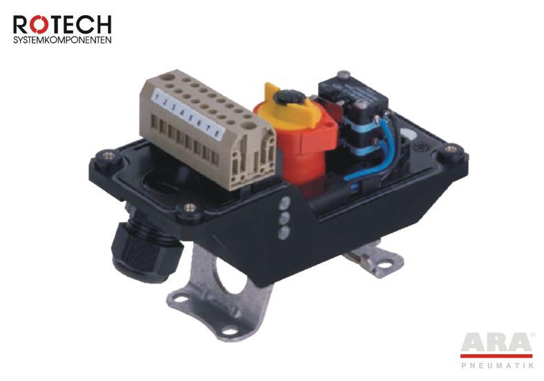 Wyłącznik krańcowy mechaniczny Rotech TCR3MVA