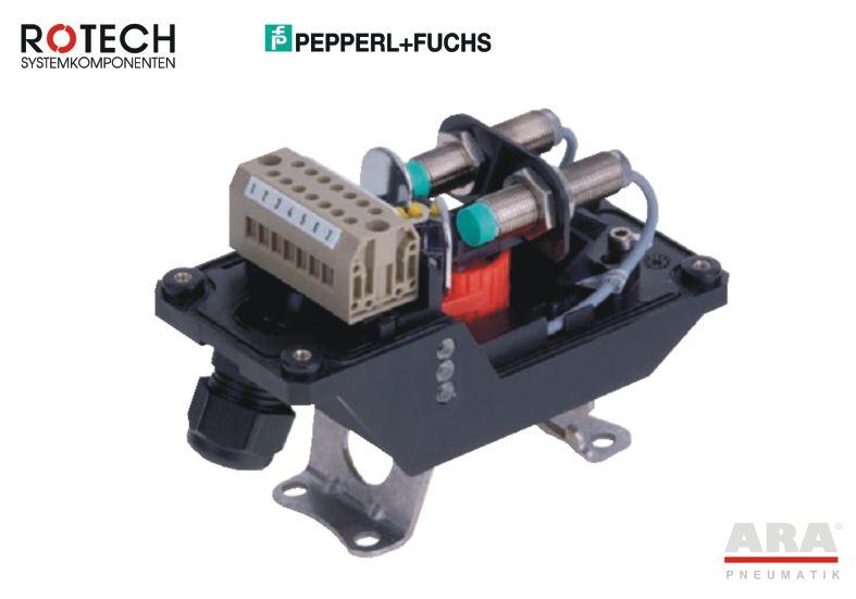 Wyłącznik krańcowy indukcyjny Rotech TPFN412EMVAZ