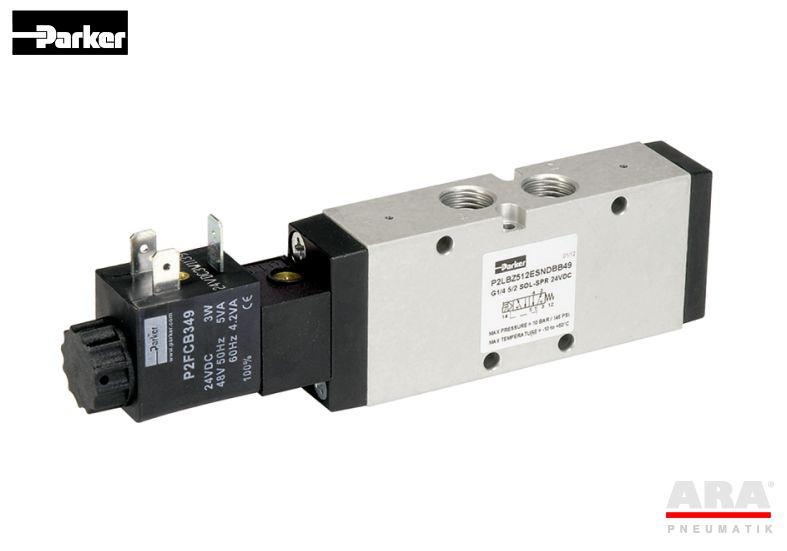 Zawór elektromagnetyczny monostabilny Parker Viking Lite