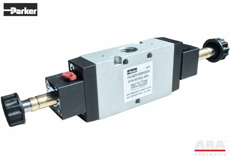 Zawór elektromagnetyczny Parker Viking Lite P2LBZ312EENDCN