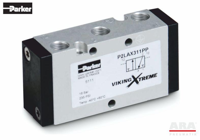 Zawór sterowany pneumatycznie Parker Viking Xtreme 3/2