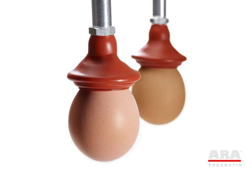 Ssawka mieszkowa serii VSOM dedykowana do jajek
