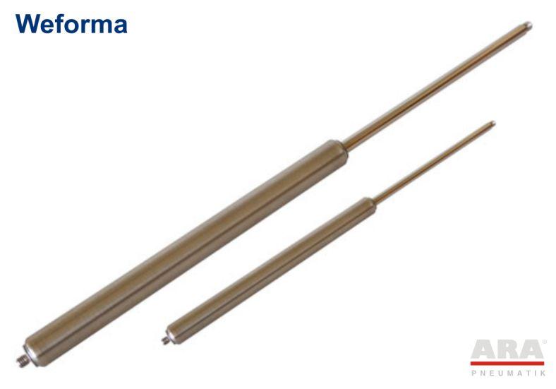 Sprężyna gazowa ze stali nierdzewnej Weforma WM-GVA