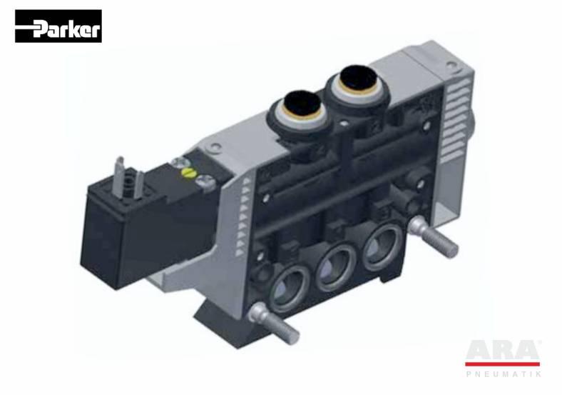 Zawory elektromagnetyczne 3/2 Parker seria PVL-B