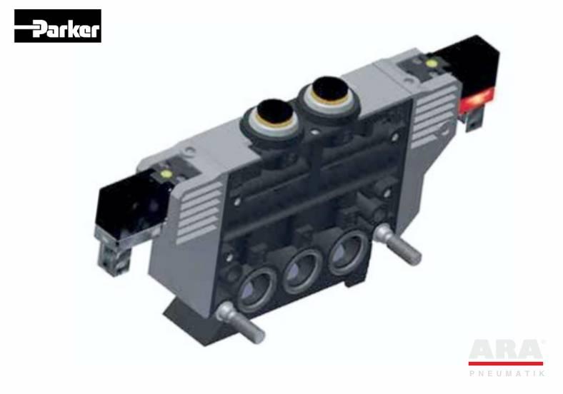 Zawory elektromagnetyczne 5/2 Parker seria PVL-B