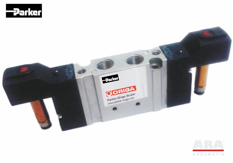 Zawory elektromagnetyczne 5/3 Parker Hoerbiger Origa seria S10