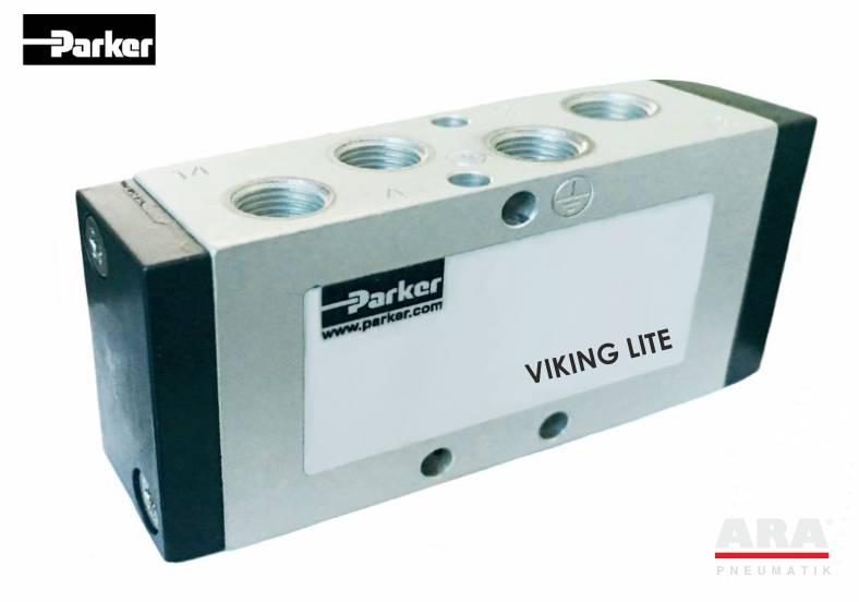 Zawory pneumatyczne 5/2 Parker seria Viking Lite
