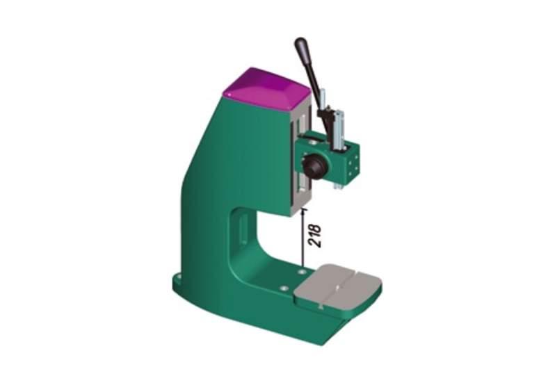 Prasa stołowa zębata Tox Pressotechnik ZF z powiększonym obszarem roboczym